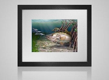 Marine life wall art