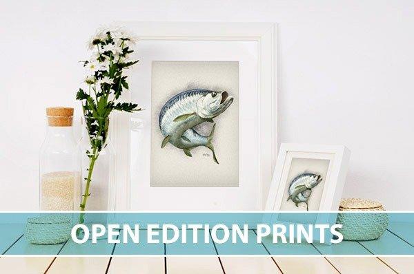 Marine life fine art prints open edition