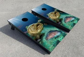 Grouper cornhole boards