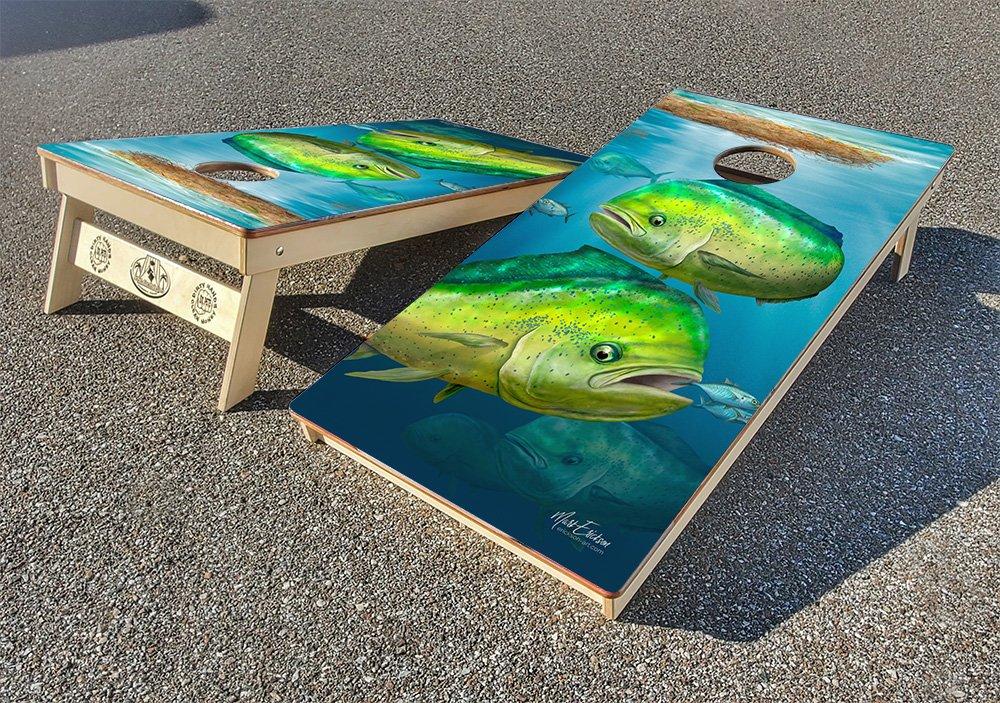 Mahi cornhole board set